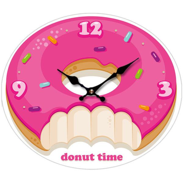 Fun Fast Food Donut Wall Clock