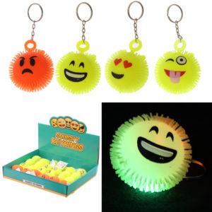 Fun Kids Light Up Emotive Keyring