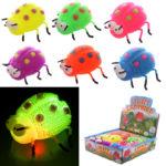 Fun Kids Light Up Squidgy Ladybird Puff Pet