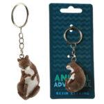 Fun Novelty Otter Keyring