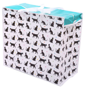 Fun Practical Laundry  and  Storage Bag - I Love My Cat