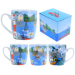 Fun Seaside New Bone China Mug - Harbour View