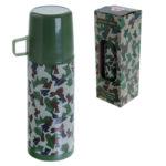 Funky 350ml Flask - Camoflauge Design