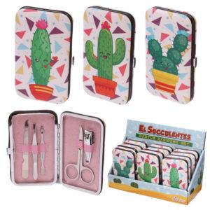 Funky Manicure Set - Cactus Design