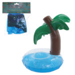 Funky Tropical Inflatable Drinks Holder - Palm Tree