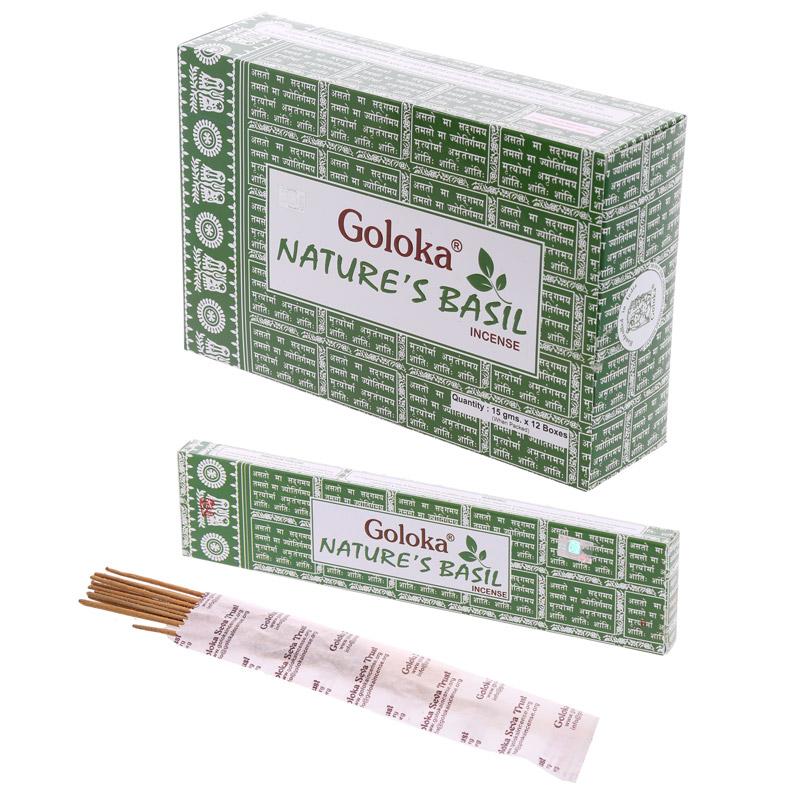 Goloka Incense Sticks - Natures Basil