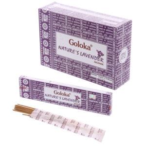 Goloka Incense Sticks - Natures Lavender