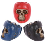 Gothic Skull Decoration with Boxing Helmet