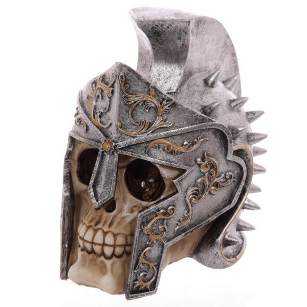Gruesome Skull Gladiator Helmet Ornament