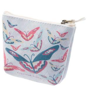 Handy PVC Make Up Bag Purse - Butterfly Design