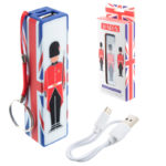 Handy Portable USB Power Bank - London Guardsman Design