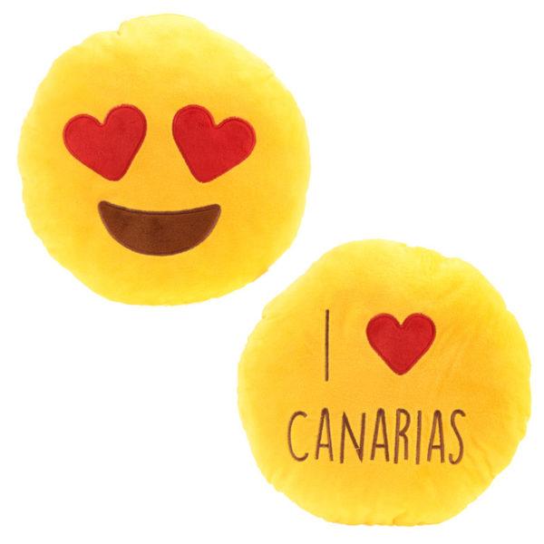 I Heart Canarias Emotive Cushion