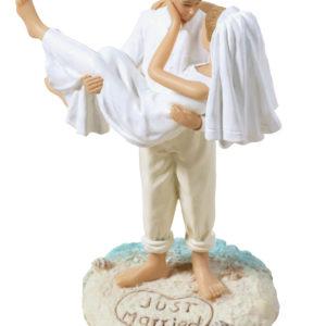 Beach Wedding Figurine CaucasianBeach Wedding Figurine Caucasian