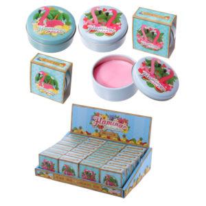 Lip Balm Tin - Flamingo Design