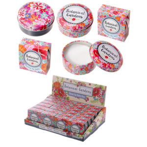 Lip Balm Tin - Floral Botanical Design