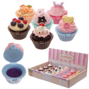 Lip Gloss in Fun Fairy Cake Holder