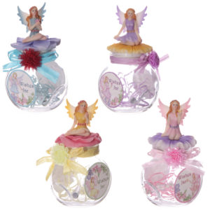Magical Fairy Figurine Wishing Jar