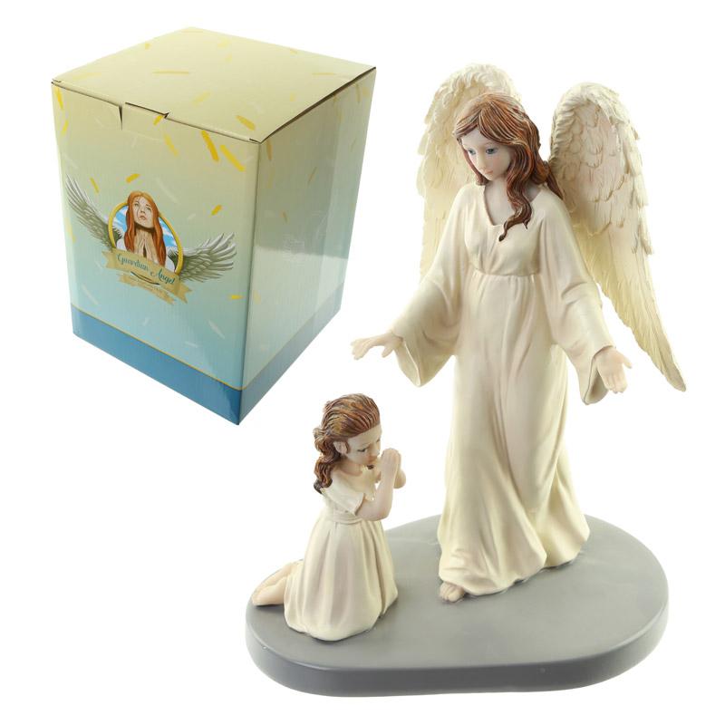 Mother Divine Guardian Angel Figurine