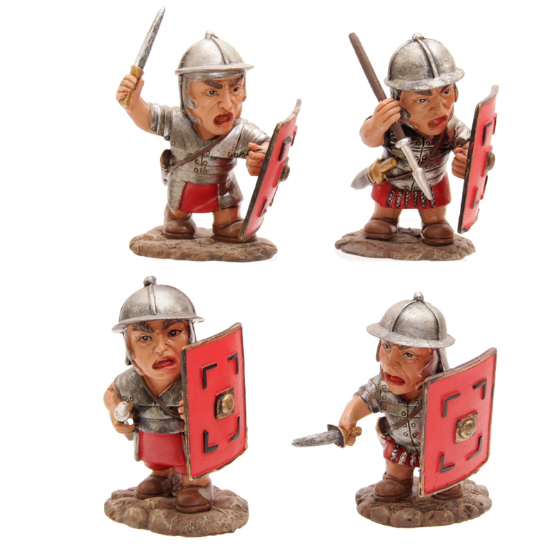 Novelty Fighting Roman Legionnaire Figurine