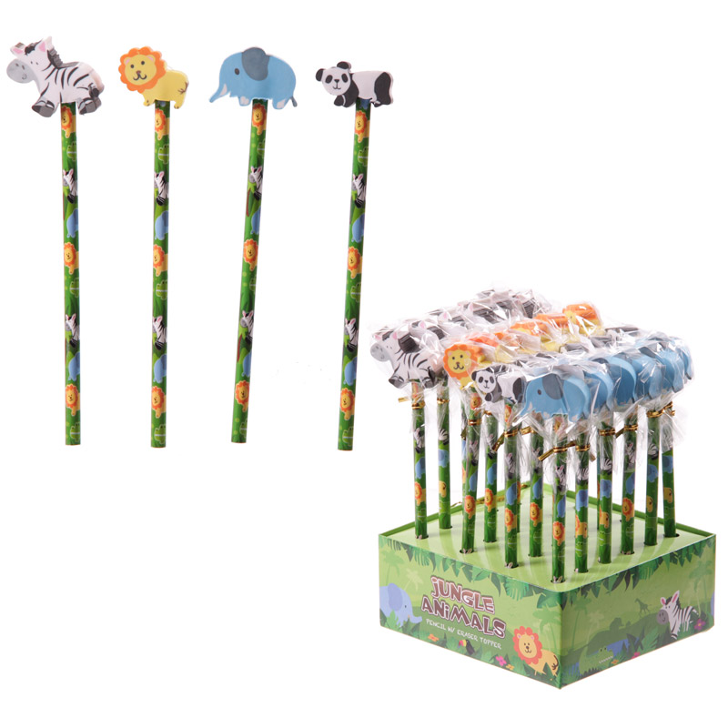 Novelty Kids Jungle Pencils