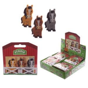 Novelty Kids Pony Design Eraser Set