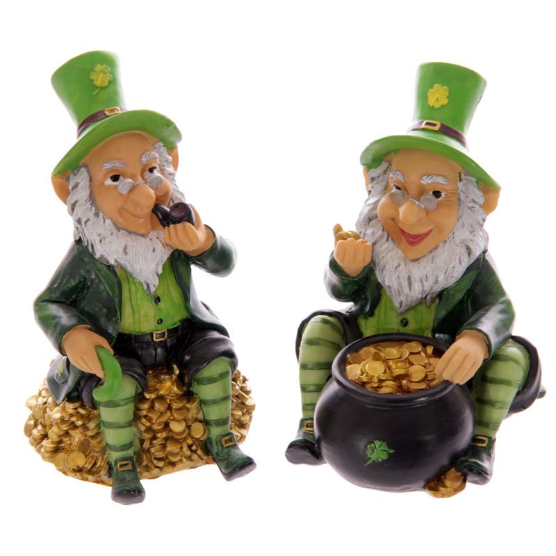 Novelty Lucky Leprechaun Money Box