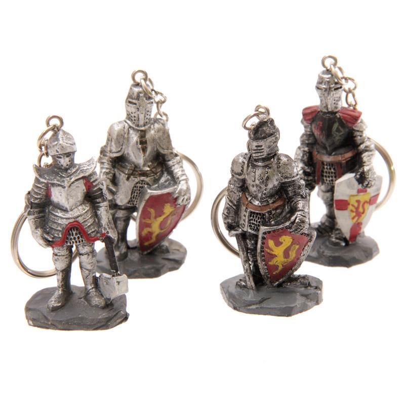 Novelty Medieval Knight Keyrings