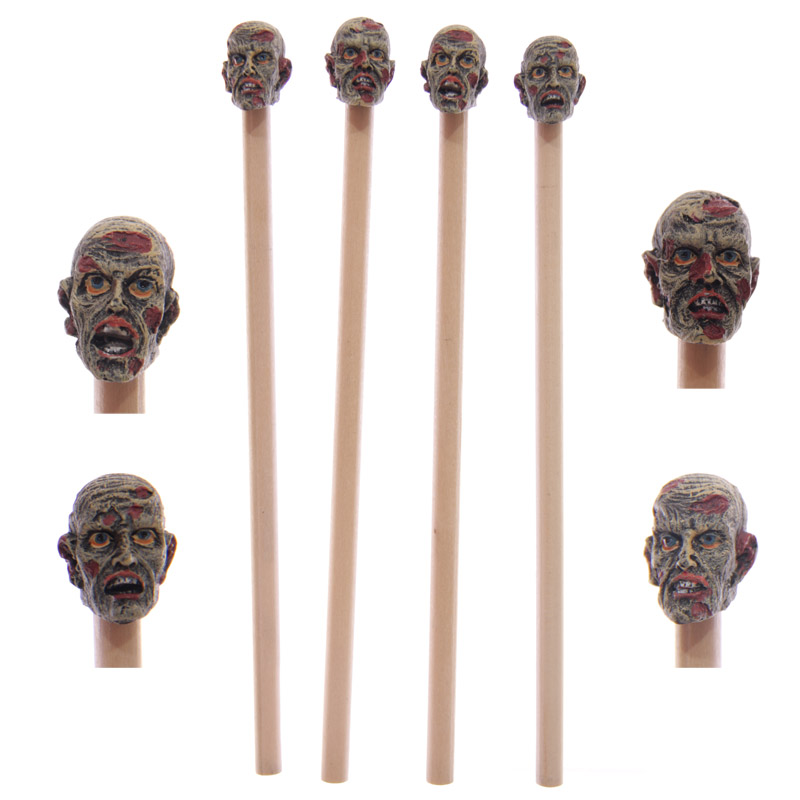 Novelty Zombie Pen and Pencil Topper