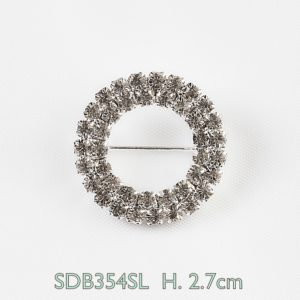 Rhinestone Brooch With CZ Quality StonesRhinestone Brooch With CZ Quality Stones