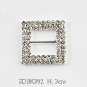 Tara Square Rhinestone With CZ Quality StonesTara Square Rhinestone With CZ Quality Stones