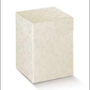 Fiorami Box Folded Scalloped Lid Size 120x120x200Fiorami Box Folded Scalloped Lid Size 120x120x200