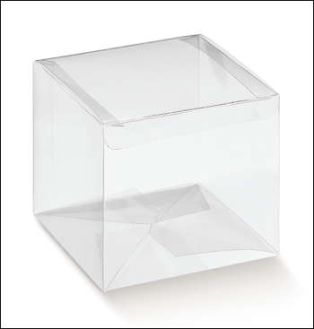 PVC Display Box 16x16x14