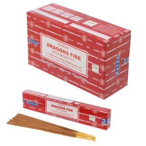 Satya Nag Champa Incense Sticks - Dragon Fire
