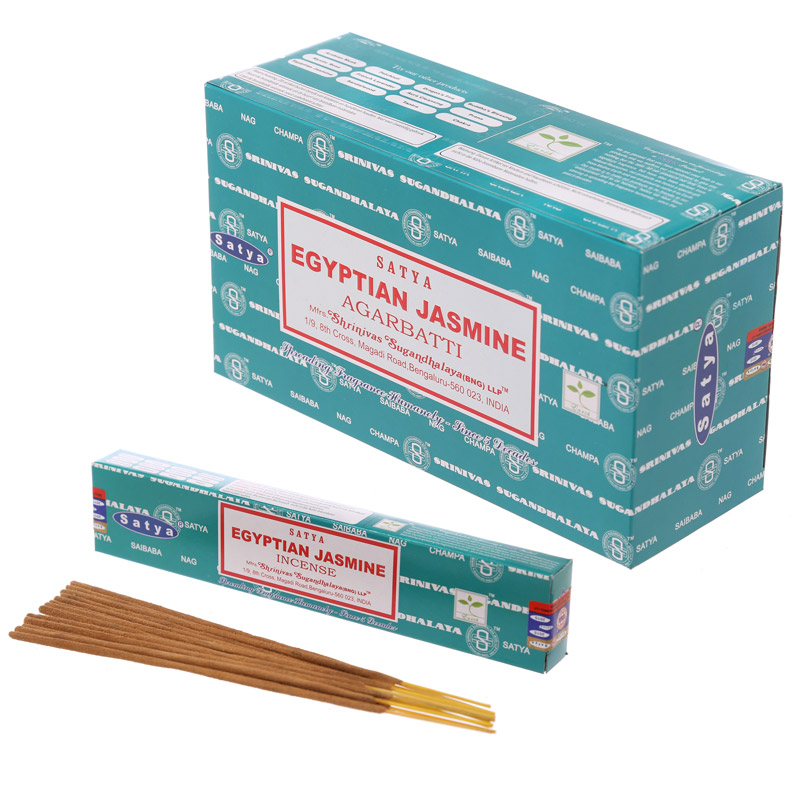 Satya Nag Champa Incense Sticks - Egyptian Jasmine