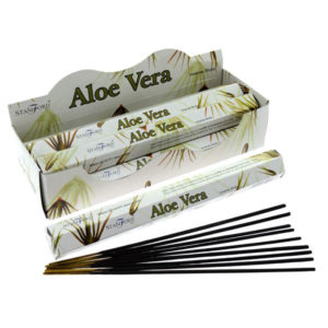 Stamford Hex Incense Sticks - Aloe Vera