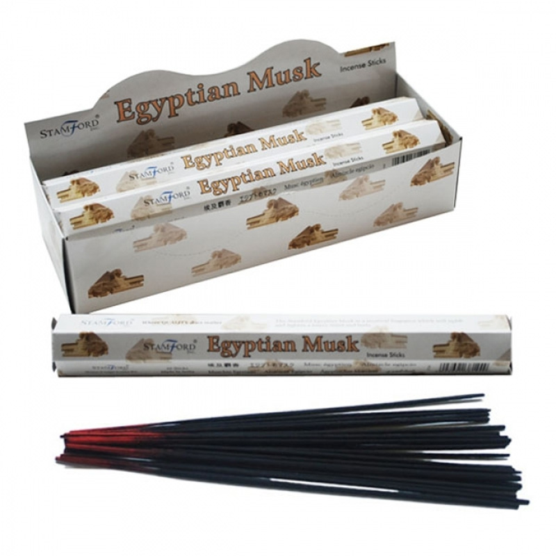 Stamford Hex Incense Sticks - Egyptian Musk