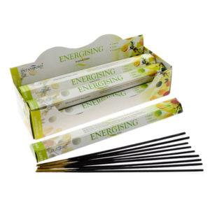 Stamford Hex Incense Sticks - Energising
