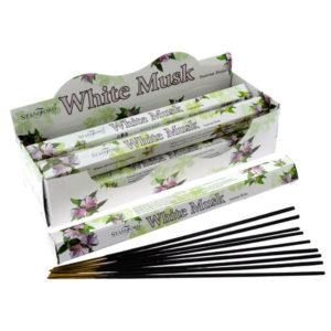 Stamford Hex Incense Sticks - White Musk