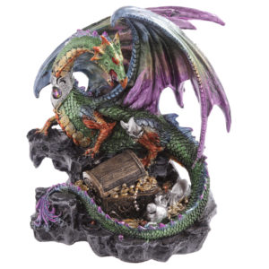 Treasure Seeker Dark Legends Dragon Figurine