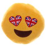 Union Flag Eyes Emotive Cushion
