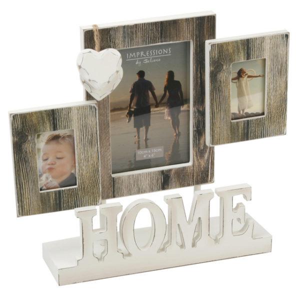 Juliana MDF 3 Aperture Mantel Frame Home