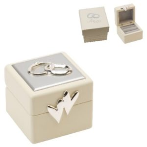 Amore Wedding Ring Box With Icons And CrystalsAmore Wedding Ring Box With Icons And Crystals