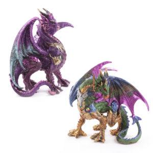 Warrior Dark Legends Dragon Figurine