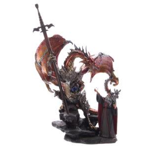 Wizard Warrior Fantasy Dragon Collectable Figurine