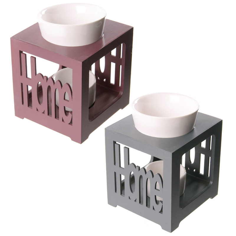 Wood and Ceramic HOME Oil Burner