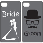 Bride And Groom Iphone 4, 4S Mobile Phone CasesBride And Groom Iphone 4, 4S Mobile Phone Cases