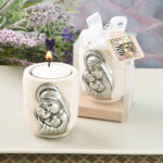 Madonna And Child Candle Tealight Holder