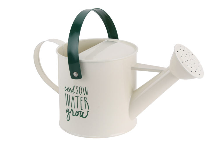 'Seed Sow Water Grow' Watering Can