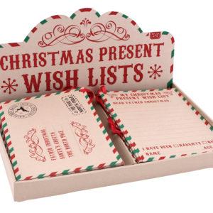 Craft Paper Christmas Wish listsCraft Paper Christmas Wish lists