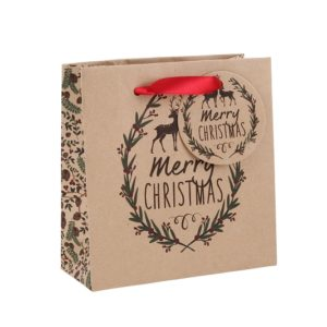 Merry Christmas' Small Gift BagMerry Christmas' Small Gift Bag